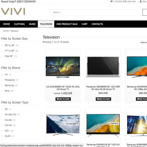 Wordpress ecommerce theme Electronics Store, Car accessories Store, Mobile Store